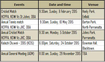 School Event Calendar Events Calendar 2015 Hcppa Nsw